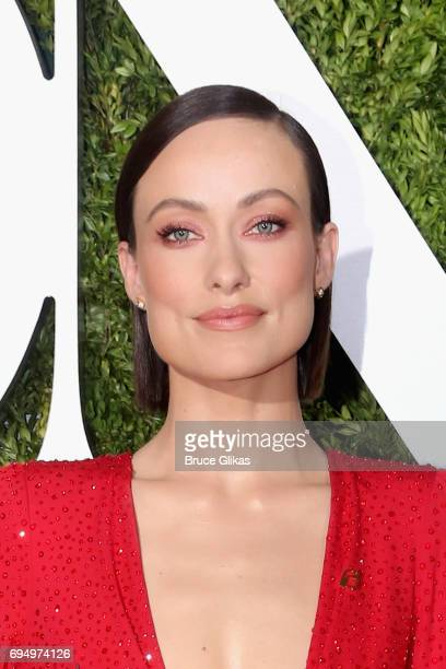 Actress Olivia Wilde attends the 71st Annual Tony Awards at Radio City Music Hall on June 11 2017 in New York City