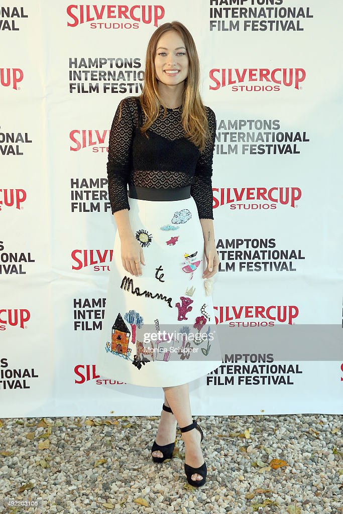 Actress Olivia Wilde attends the Chairman's Reception during Day 3 of the 23rd Annual Hamptons International Film Festival on October 10, 2015 in East Hampton, New York.