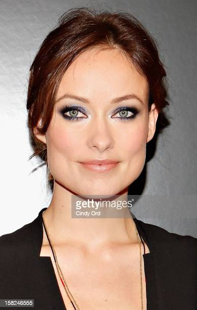 Actress Olivia Wilde attends the Django Unchained NY premiere at Ziegfeld Theatre on December 11 2012 in New York City