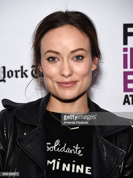 Actress Olivia Wilde attends the Film Independent Live Read of 'Dr Strangelove' with guest director Mark Romanek at the Bing Theatre at LACMA on...