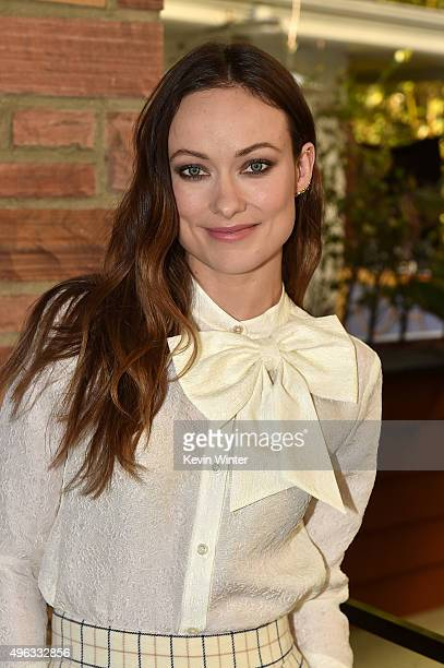 Actress Olivia Wilde attends the 'Indie Contenders Roundtable presented by The Hollywood Reporter' during AFI FEST 2015 presented by Audi at the...