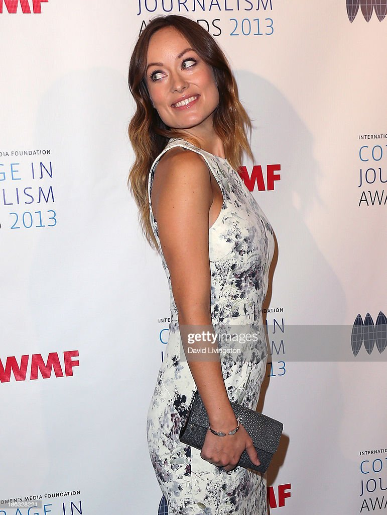 Actress <a gi-track='captionPersonalityLinkClicked' href=/galleries/search?phrase=Olivia+Wilde&family=editorial&specificpeople=235399 ng-click='$event.stopPropagation()'>Olivia Wilde</a> attends the IWMF Courage in Journalism Awards 2013 at the Beverly Hills Hotel on October 29, 2013 in Beverly Hills, California.