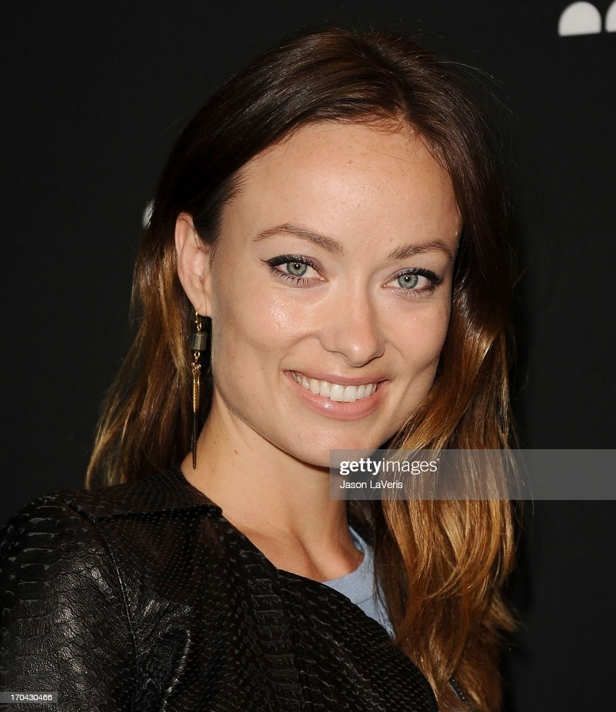 Actress <a gi-track='captionPersonalityLinkClicked' href=/galleries/search?phrase=Olivia+Wilde&family=editorial&specificpeople=235399 ng-click='$event.stopPropagation()'>Olivia Wilde</a> attends the Myspace artist showcase event at El Rey Theatre on June 12, 2013 in Los Angeles, California.