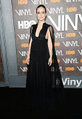 Actress Olivia Wilde attends the New York premiere of 'Vinyl' at Ziegfeld Theatre on January 15 2016 in New York City