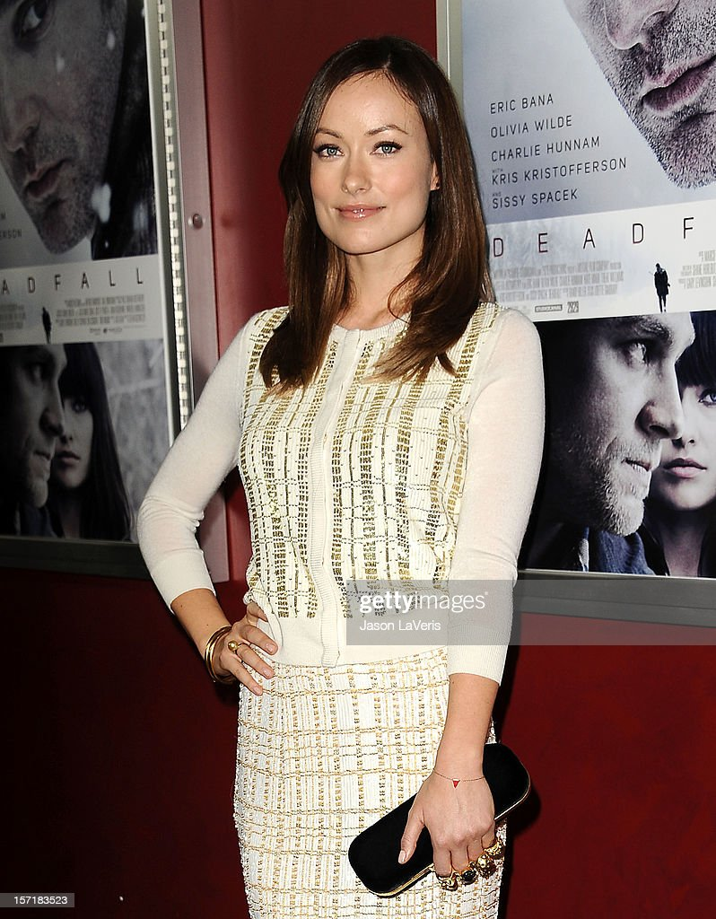 Actress Olivia Wilde attends the premiere of 'Deadfall' at ArcLight Hollywood on November 29 2012 in Hollywood California