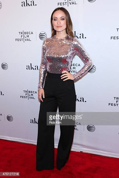 Actress Olivia Wilde attends the premiere of 'Meadowland' during the 2015 Tribeca Film Festival at the SVA Theater on April 17 2015 in New York City