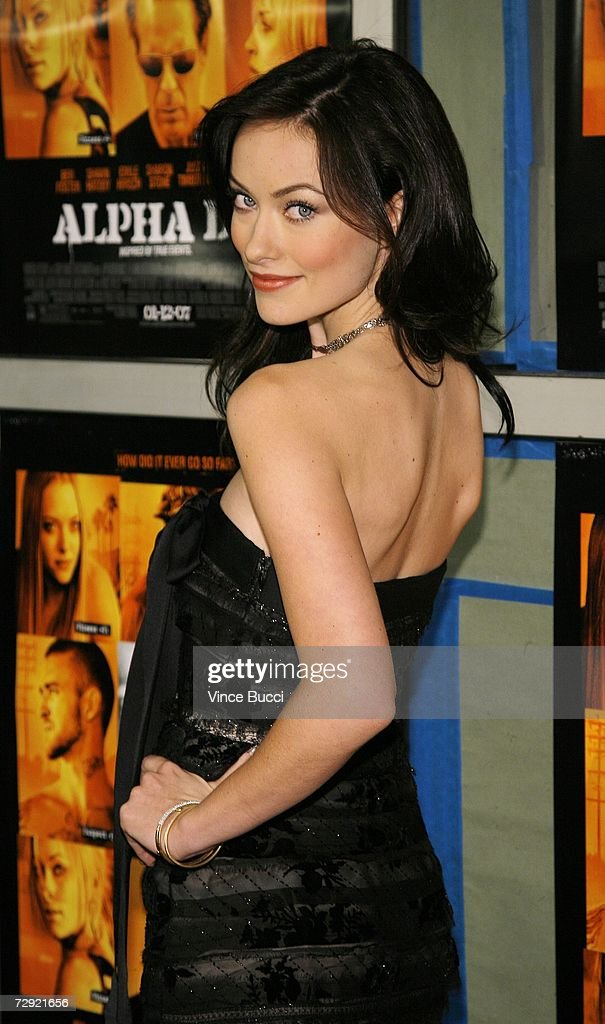 Actress Olivia Wilde attends the premiere of the Universal Pictures' film 'Alpha Dog' on January 3, 2007 at the Arclight Theatres in Hollywood, California.