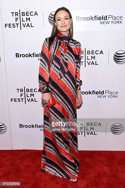 Actress Olivia Wilde attends the premiere of 'Tumbledown' during the 2015 Tribeca Film Festival at BMCC Tribeca PAC on April 18 2015 in New York City