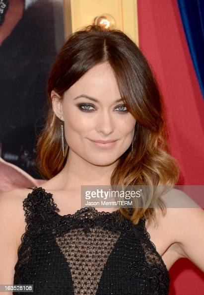 Actress Olivia Wilde attends the premiere of Warner Bros Pictures' 'The Incredible Burt Wonderstone' at TCL Chinese Theatre on March 11 2013 in...