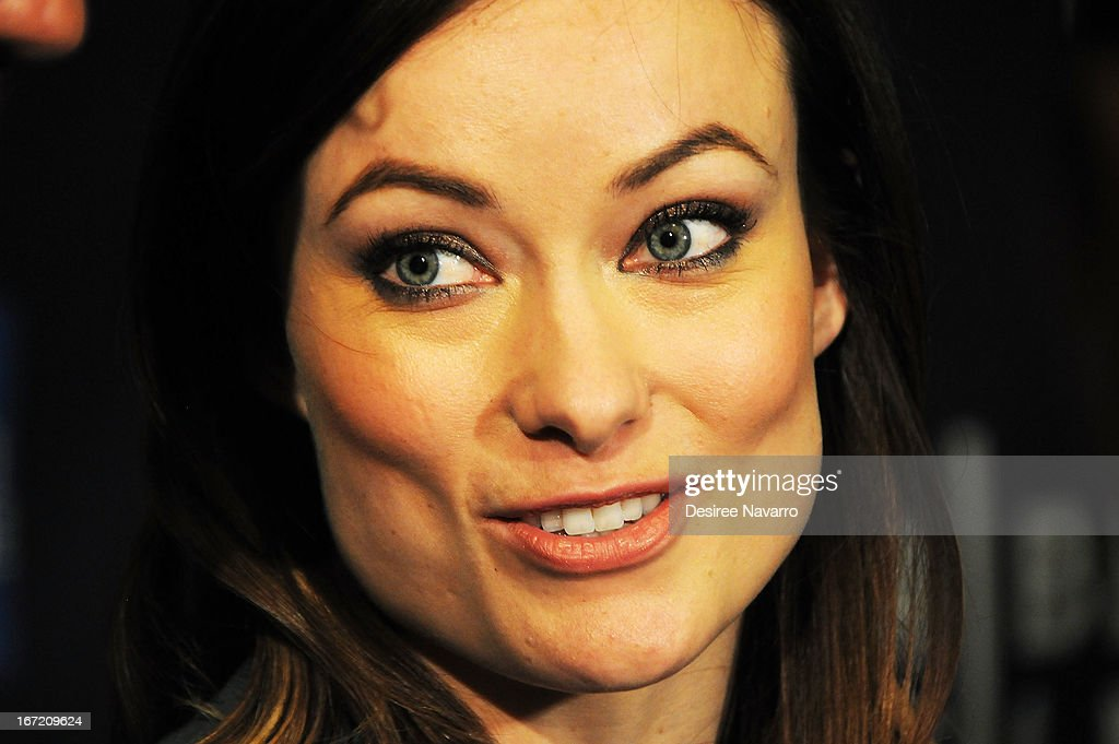 Actress <a gi-track='captionPersonalityLinkClicked' href=/galleries/search?phrase=Olivia+Wilde&family=editorial&specificpeople=235399 ng-click='$event.stopPropagation()'>Olivia Wilde</a> attends 'The Rider And The Storm' Screening during the Shorts Program - Character Witness at the 2013 Tribeca Film Festival at AMC Loews Village 7 on April 22, 2013 in New York City.