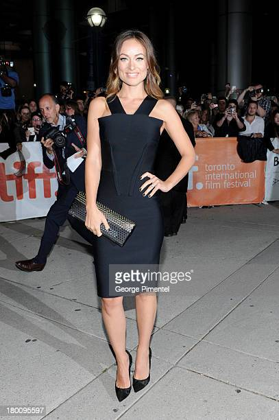 Actress Olivia Wilde attends the 'Rush' premiere during the 2013 Toronto International Film Festival at Roy Thomson Hall on September 8 2013 in...