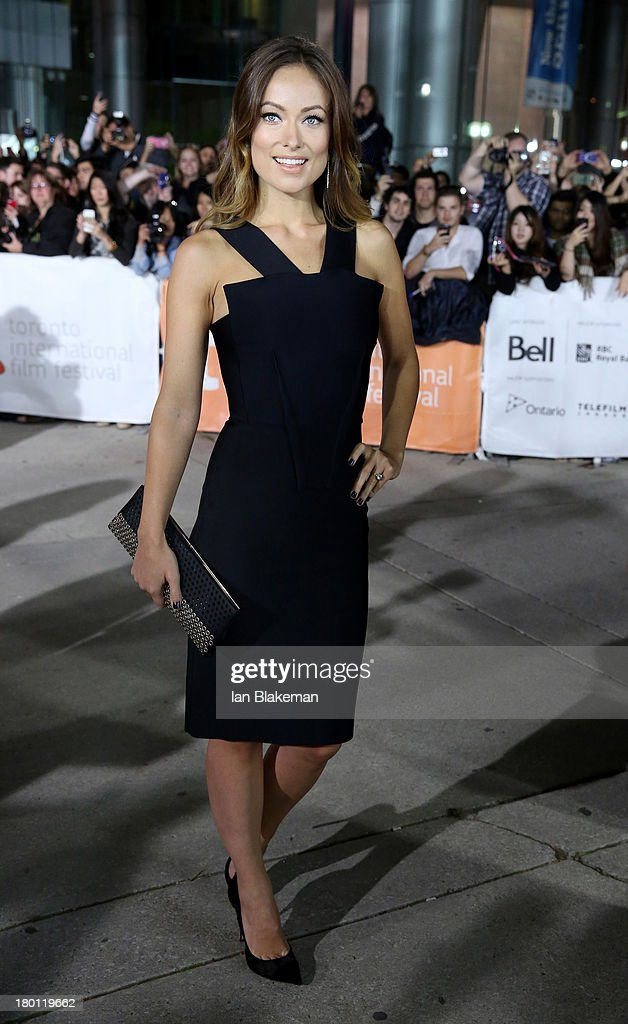 Actress Olivia Wilde attends the 'Rush' premiere during the 2013 Toronto International Film Festival at Roy Thomson Hall on September 8, 2013 in Toronto, Canada.