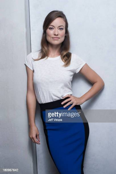 Actress Olivia Wilde is photographed at the Toronto Film Festival on September 10 2013 in Toronto Ontario