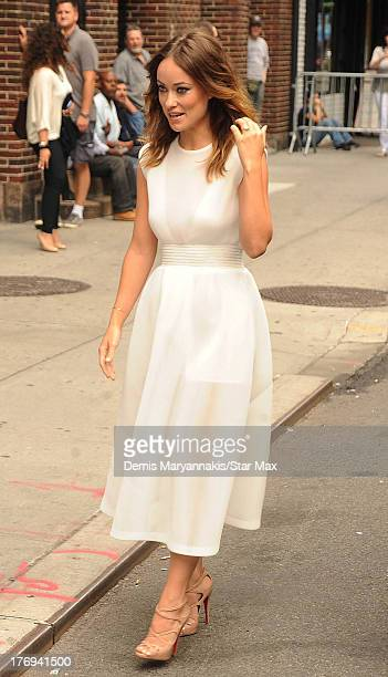 Actress Olivia Wilde is seen on August 19 2013 in New York City