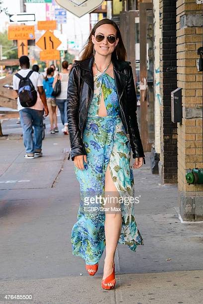 Actress Olivia Wilde is seen on June 9 2015 in New York City