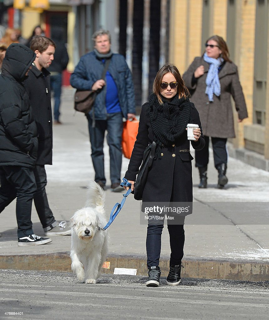 Actress <a gi-track='captionPersonalityLinkClicked' href=/galleries/search?phrase=Olivia+Wilde&family=editorial&specificpeople=235399 ng-click='$event.stopPropagation()'>Olivia Wilde</a> is seen on March 5, 2014 in New York City.