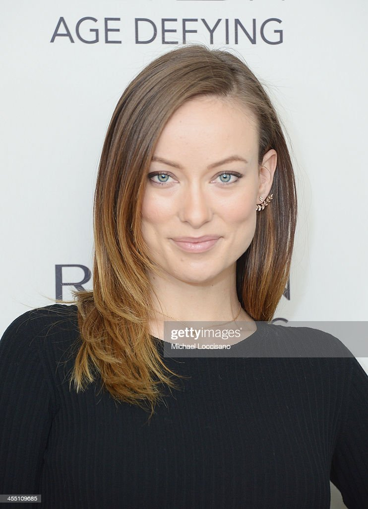 Actress Olivia Wilde launches Revlon's NEW Age Defying Collection at Trump SoHo on December 11, - actress-olivia-wilde-launches-revlons-new-age-defying-collection-at-picture-id455109685