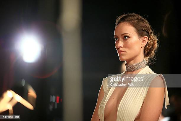 Actress Olivia Wilde the 88th Annual Academy Awards at Dolby Theatre on February 28 2016 in Hollywood California