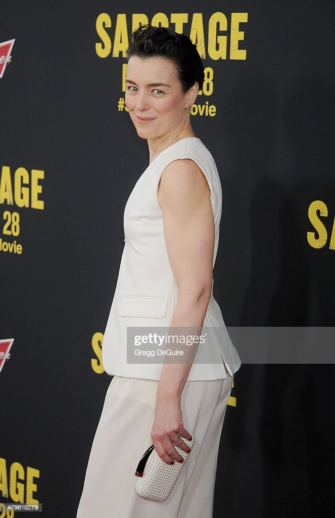 """Sabotage"" - Los Angeles Premiere - Arrivals"