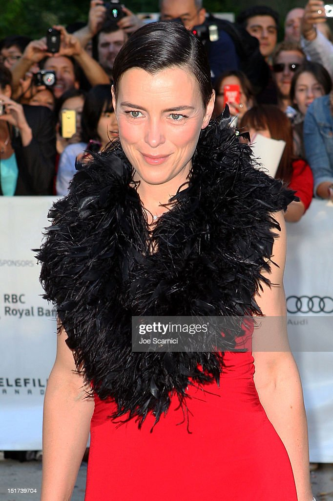 Actress Olivia Williams attends the 'Hyde Park On Hudson' premiere during the 2012 Toronto International Film Festival at Roy Thomson Hall on September 10, 2012 in Toronto, Canada.