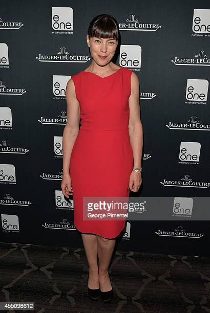 Actress Olivia Williams attends the JaegerLeCoultre Celebrates The North American Premiere Of 'Maps To The Stars' during the 2014 Toronto...