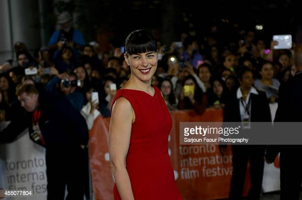 Actress Olivia Williams attends the 'Maps to the Stars' premiere during the 2014 Toronto International Film Festival at Roy Thomson Hall on September...