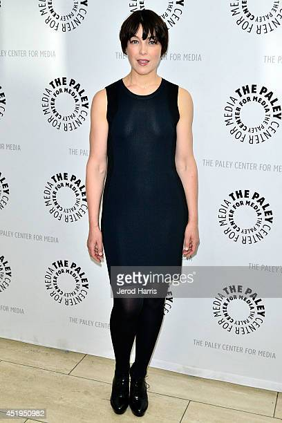 Actress Olivia Williams attends the Paley Center for Media Presents an evening with WGN America's 'Manhattan' at the Paley Center for Media on July 9...