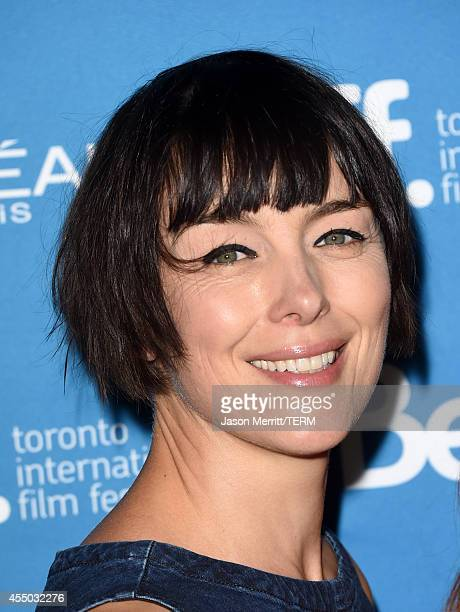 Actress Olivia Williams poses at 'Maps To The Stars' Press Conference during the 2014 Toronto International Film Festival at TIFF Bell Lightbox on...