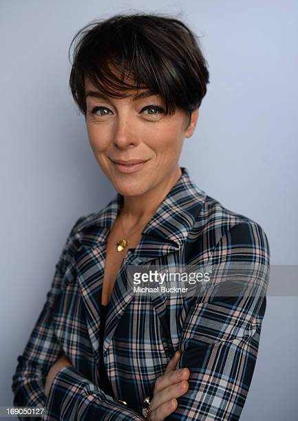 Actress Olivia Williams poses for a portrait at the Variety Studio at Chivas House on May 19 2013 in Cannes France