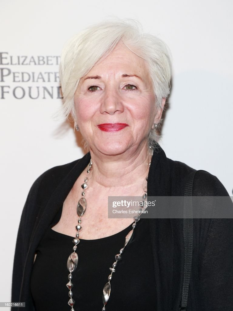 Actress <a gi-track='captionPersonalityLinkClicked' href=/galleries/search?phrase=Olympia+Dukakis&family=editorial&specificpeople=225091 ng-click='$event.stopPropagation()'>Olympia Dukakis</a> attends the 2013 Elizabeth Glaser Pediatric AIDS Foundation awards dinner at Mandarin Oriental Hotel on February 20, 2013 in New York City.