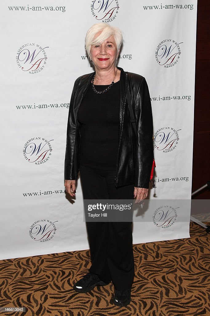 Actress <a gi-track='captionPersonalityLinkClicked' href=/galleries/search?phrase=Olympia+Dukakis&family=editorial&specificpeople=225091 ng-click='$event.stopPropagation()'>Olympia Dukakis</a> attends the 2013 Eugene O'Neill Lifetime Achievement Award gala at The Manhattan Club at Rosie O'Grady's on October 21, 2013 in New York City.