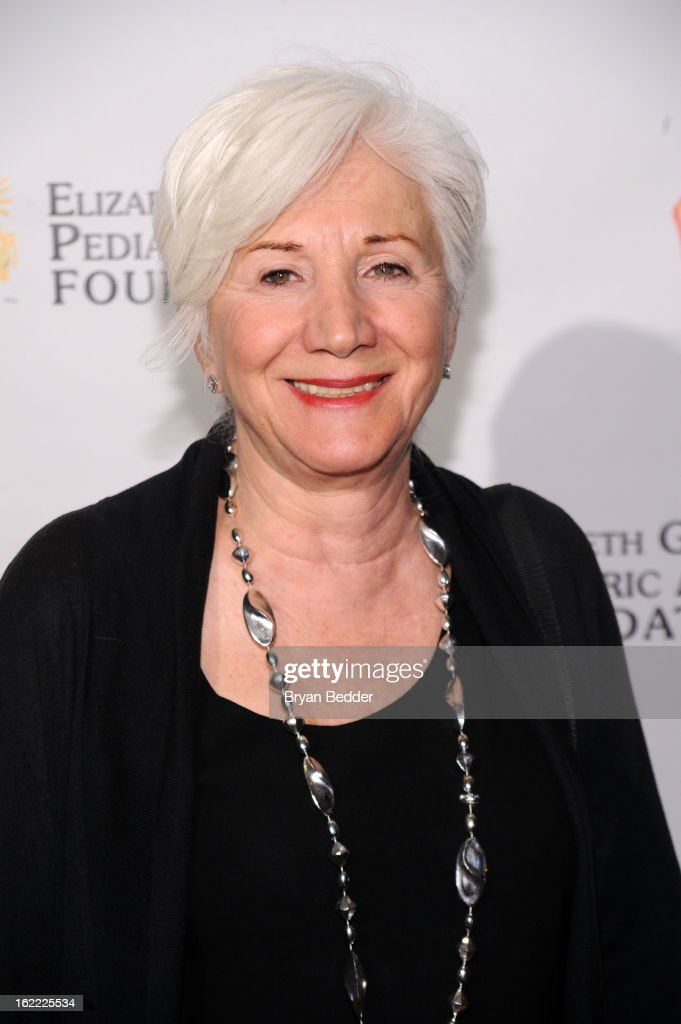 Actress <a gi-track='captionPersonalityLinkClicked' href=/galleries/search?phrase=Olympia+Dukakis&family=editorial&specificpeople=225091 ng-click='$event.stopPropagation()'>Olympia Dukakis</a> attends the Elizabeth Glaser Global Champions of a Mothers Fight Awards Dinner at Mandarin Oriental Hotel on February 20, 2013 in New York City.