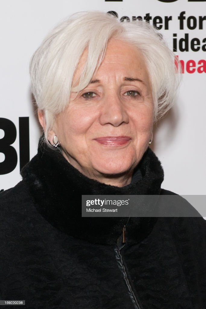 Actress <a gi-track='captionPersonalityLinkClicked' href=/galleries/search?phrase=Olympia+Dukakis&family=editorial&specificpeople=225091 ng-click='$event.stopPropagation()'>Olympia Dukakis</a> attends the Under The Radar Festival 2013 Opening Night Celebration at The Public Theater on January 9, 2013 in New York City.