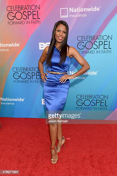 Actress Omarosa Manigault attends the BET Celebration of Gospel 2014 at Orpheum Theatre on March 15 2014 in Los Angeles California