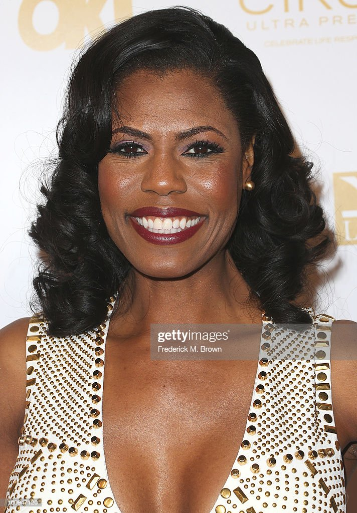 Actress Omarosa Manigualt attends the Ok! Magazine Pre-GRAMMY Party at the Sound Nightclub on February 7, 2013 in Hollywood, California.