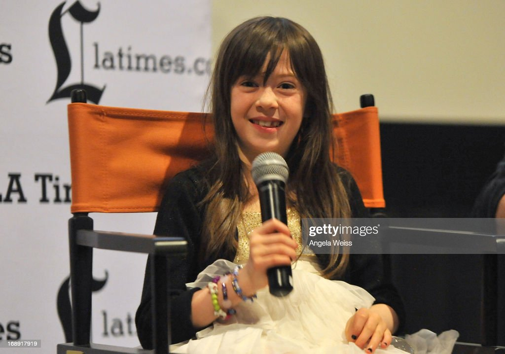 Actress Onata Aprile attends the LA Times Indie Focus Screening of 'What Masie Knew' at Laemmle NoHo 7 on May 16, 2013 in North Hollywood, California.