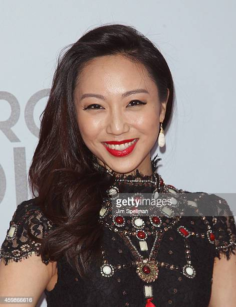 Actress Oon Shu An attends the 'Marco Polo' New York series premiere at AMC Lincoln Square Theater on December 2 2014 in New York City