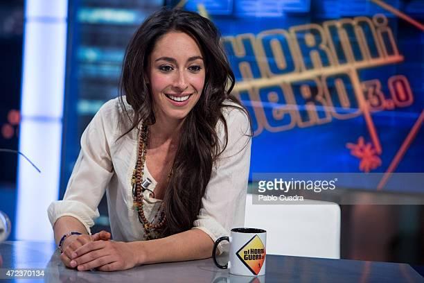 Actress Oona Chaplin attends 'El Hormiguero' Tv Show at Vertice Studio on May 6 2015 in Madrid Spain