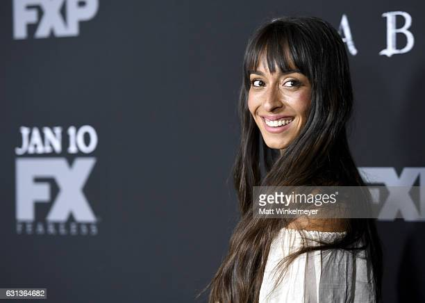 Actress Oona Chaplin attends the premiere of FX's 'Taboo' at DGA Theater on January 9 2017 in Los Angeles California