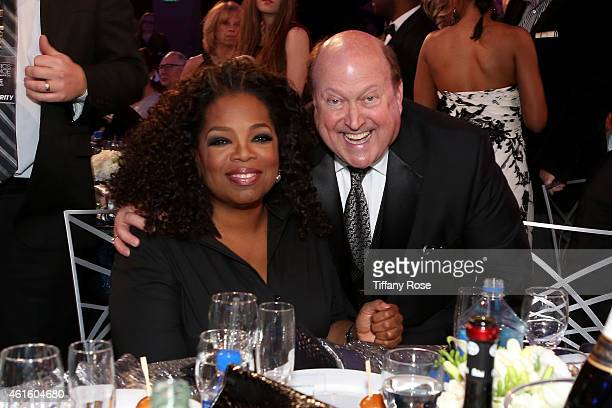 Actress Oprah Winfrey and guest attend the 20th annual Critics' Choice Movie Awards at the Hollywood Palladium on January 15 2015 in Los Angeles...