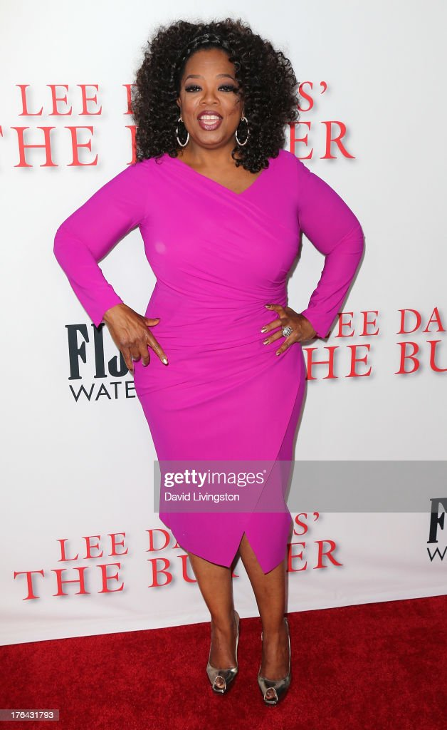 Actress <a gi-track='captionPersonalityLinkClicked' href=/galleries/search?phrase=Oprah+Winfrey&family=editorial&specificpeople=171750 ng-click='$event.stopPropagation()'>Oprah Winfrey</a> attends the premiere of the Weinstein Company's 'Lee Daniels' The Butler' at Regal Cinemas L.A. Live on August 12, 2013 in Los Angeles, California.