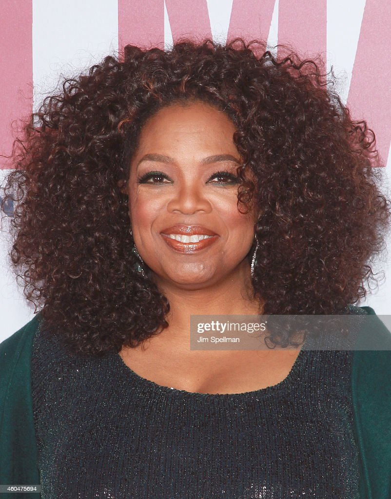Actress Oprah Winfrey attends the 'Selma' New York Premiere at the Ziegfeld Theater on December 14, 2014 in New York City.