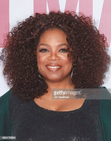 Actress Oprah Winfrey attends the 'Selma' New York Premiere at the Ziegfeld Theater on December 14 2014 in New York City