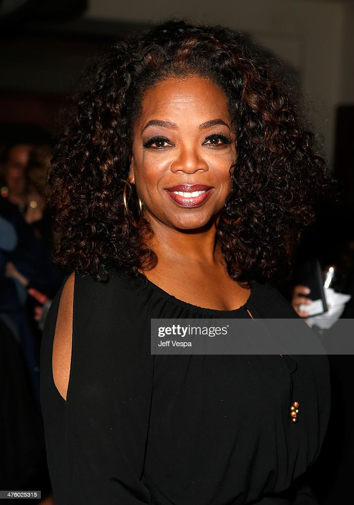 Actress <a gi-track='captionPersonalityLinkClicked' href=/galleries/search?phrase=Oprah+Winfrey&family=editorial&specificpeople=171750 ng-click='$event.stopPropagation()'>Oprah Winfrey</a> attends The Weinstein Company's Academy Award party hosted by Chopard and DeLeon Tequila at Montage Beverly Hills on March 1, 2014 in Beverly Hills, California.