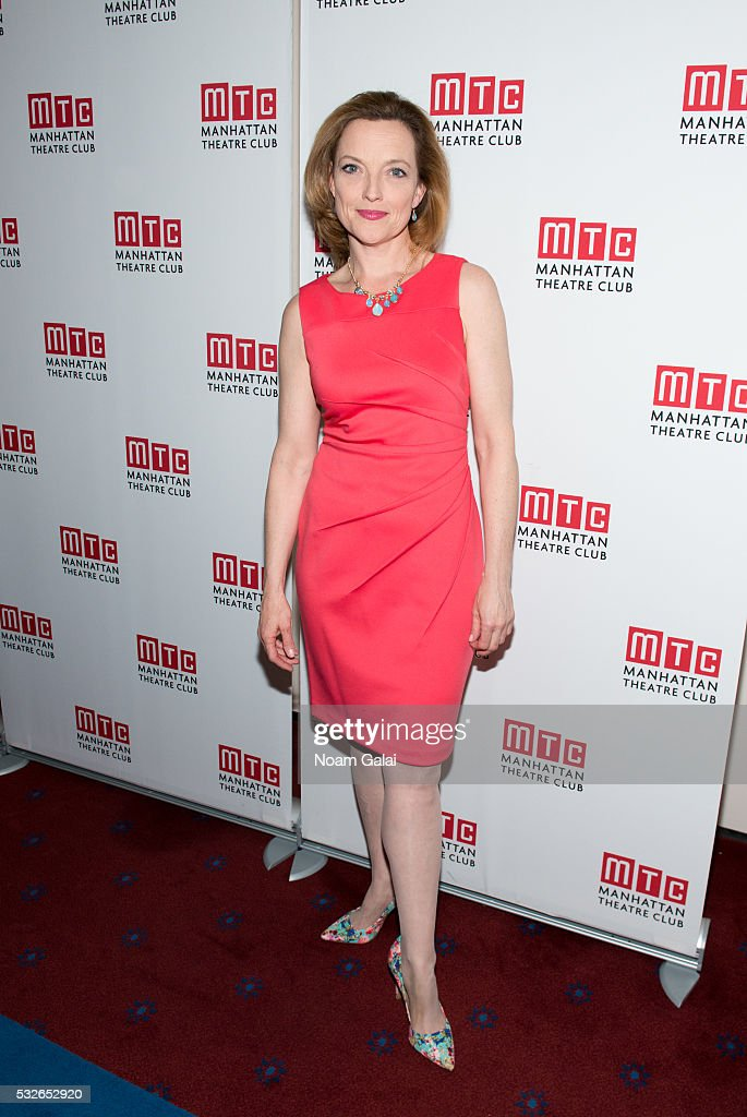 Actress Orlagh Cassidy attends the opening night of 'The Ruins Of Civilization' at New York City Center on May 18, 2016 in New York City.