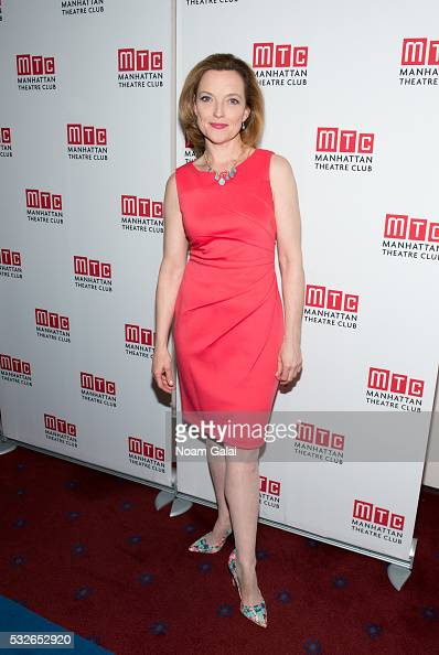 Actress Orlagh Cassidy attends the opening night of 'The Ruins Of Civilization' at New York City Center on May 18 2016 in New York City