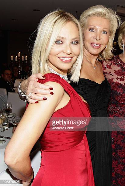 Actress Ornella Muti and UteHenriette Ohoven attend the UNESCO CharityGala 2010 at Maritim Hotel on October 30 2010 in Duesseldorf Germany