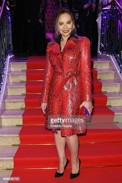 Actress Ornella Muti attends the '5th Rendezvous' French Film Festival Opening Ceremony at Sofitel Hotel on April 8 2015 in Rome Italy