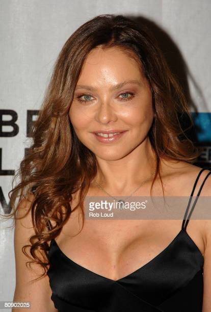 Actress Ornella Muti attends the premiere of 'Toby Dammit' during the 2008 Tribeca Film Festival on April 28 2008 in New York City
