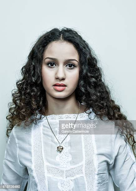 Actress Oulaya Amamra is photographed during the 60th BFI London Film Festival at The Corinthia Hotel on October 6 2016 in London England